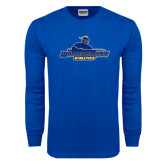 Royal Long Sleeve T Shirt-Worcester State Athletics