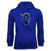 Royal Fleece Hoodie-Lancer Head