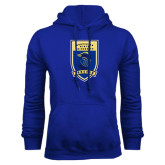 Royal Fleece Hoodie-Lancer Shield