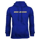 Royal Fleece Hoodie-WSU Lancers