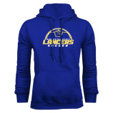 Royal Fleece Hoodie-Soccer Top