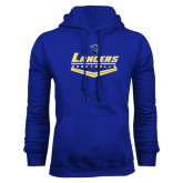 Royal Fleece Hoodie-Softball Plate