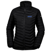 Columbia Lake 22 Ladies Black Jacket-WSU