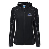 Columbia Ladies Sweet As Black Hooded Jacket-Primary Mark