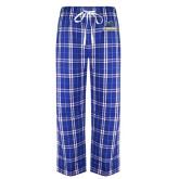 Royal/White Flannel Pajama Pant-Primary Mark