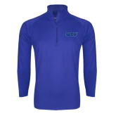 Sport Wick Stretch Royal 1/2 Zip Pullover-WSU