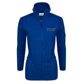 Columbia Ladies Full Zip Royal Fleece Jacket-WSU