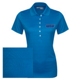 Ladies Callaway Opti Vent Sapphire Blue Polo-WSU