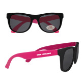 Black/Hot Pink Sunglasses-WSU Lancers