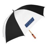64 Inch Black/White Vented Umbrella-WSU