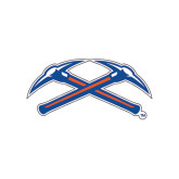Small Decal-Crossed Axes, 6 in Wide