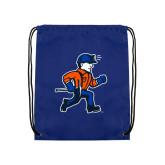 Royal Drawstring Backpack-Mascot