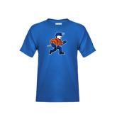 Youth Royal T Shirt-Mascot