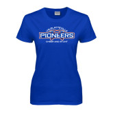 Ladies Royal T Shirt-Cheer and Stunt