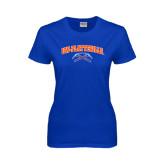 Ladies Royal T Shirt-Arched UW-Platteville