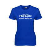 Ladies Royal T Shirt-Mens Soccer