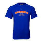 Under Armour Royal Tech Tee-Arched UW-Platteville