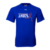 Under Armour Royal Tech Tee-Track and Field Runner Design