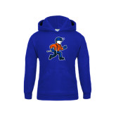 Youth Royal Fleece Hoodie-Mascot