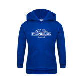 Youth Royal Fleece Hoodie-Pioneers Wrestling