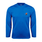 Syntrel Performance Royal Longsleeve Shirt-Mascot