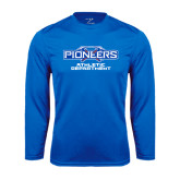 Syntrel Performance Royal Longsleeve Shirt-Athletic Department