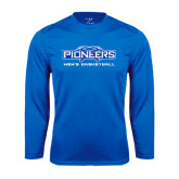 Syntrel Performance Royal Longsleeve Shirt-Mens Basketball