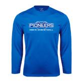 Performance Royal Longsleeve Shirt-Mens Basketball