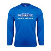 Performance Royal Longsleeve Shirt-Mens Soccer
