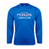 Syntrel Performance Royal Longsleeve Shirt-Wrestling
