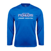 Syntrel Performance Royal Longsleeve Shirt-Cross Country
