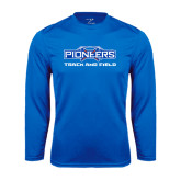 Syntrel Performance Royal Longsleeve Shirt-Track and Field