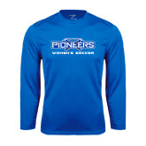 Syntrel Performance Royal Longsleeve Shirt-Womens Soccer