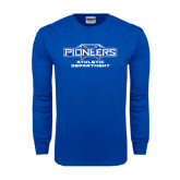 Royal Long Sleeve T Shirt-Athletic Department