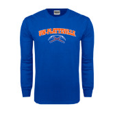 Royal Long Sleeve T Shirt-Arched UW-Platteville