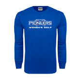 Royal Long Sleeve T Shirt-Womens Golf