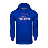 Under Armour Royal Performance Sweats Team Hoodie-Soccer Ball Design