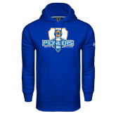 Under Armour Royal Performance Sweats Team Hoodie-Mens Soccer Shield