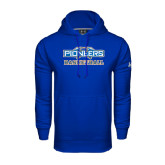 Under Armour Royal Performance Sweats Team Hoodie-Pioneers Basketball