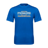 Syntrel Performance Royal Tee-Pioneers Basketball