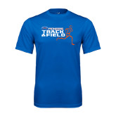 Syntrel Performance Royal Tee-Track and Field Runner Design