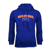Royal Fleece Hoodie-Arched UW-Platteville