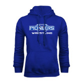 Royal Fleece Hoodie-Wrestling