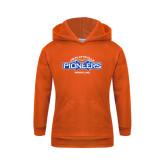 Youth Orange Fleece Hoodie-Pioneers Wrestling