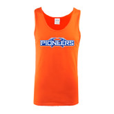 Orange Tank Top-Official Logo
