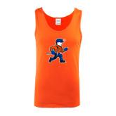 Orange Tank Top-Mascot