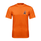 Performance Orange Tee-Mascot