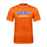 Performance Orange Tee-Athletic Department