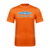 Performance Orange Tee-Pioneers Basketball