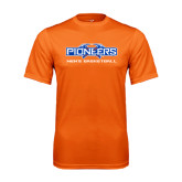 Performance Orange Tee-Mens Basketball